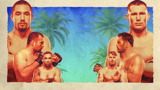 UFCファイトナイト・ファイトアイランド3:ウィテカー vs. ヒル