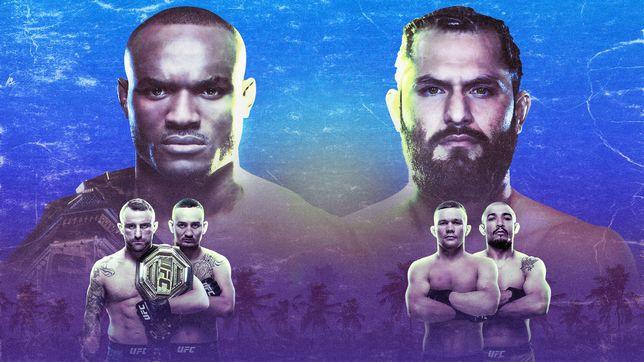 UFC 251:ウスマン vs. マスヴィダル