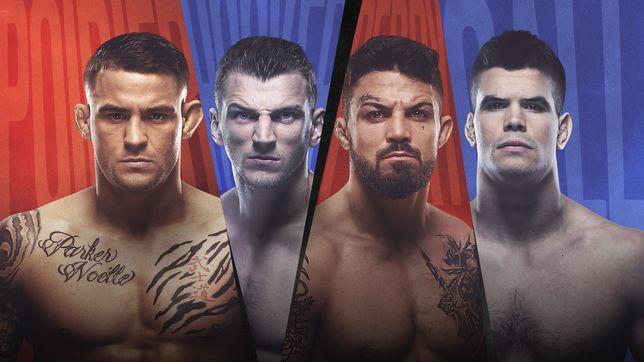 UFCファイトナイト・ラスベガス 4:ポワリエ vs. フッカー