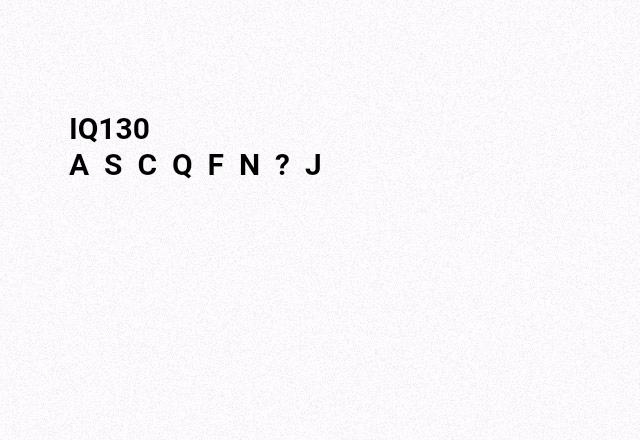 #IQ130