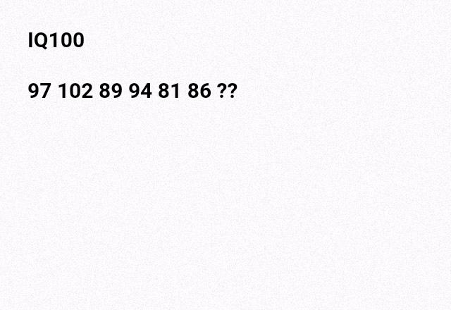 IQ100(平均)