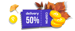 Global Shipping 50% OFF + Domestic Shipping FREE+ 2,000p for Any Product Review!
