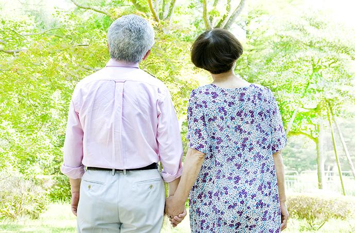 終活を考える夫婦