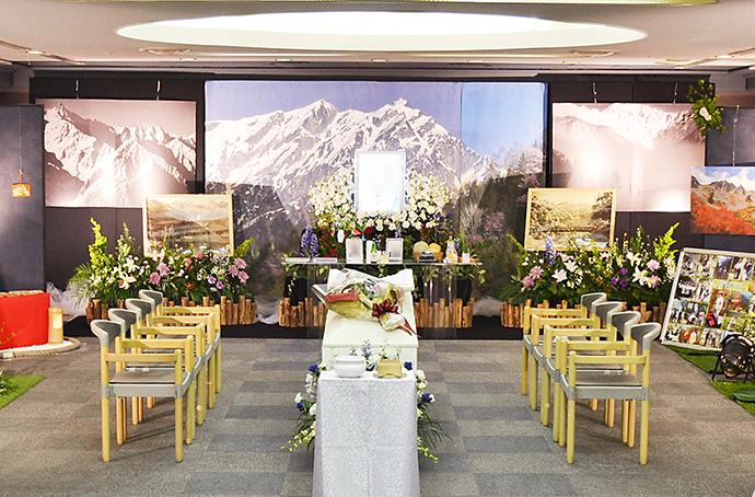 葬儀事例 想い出Mountain