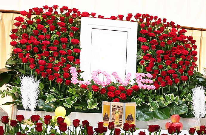 オーダーメイド花祭壇