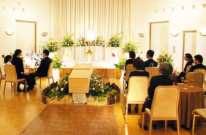 家族葬 写真