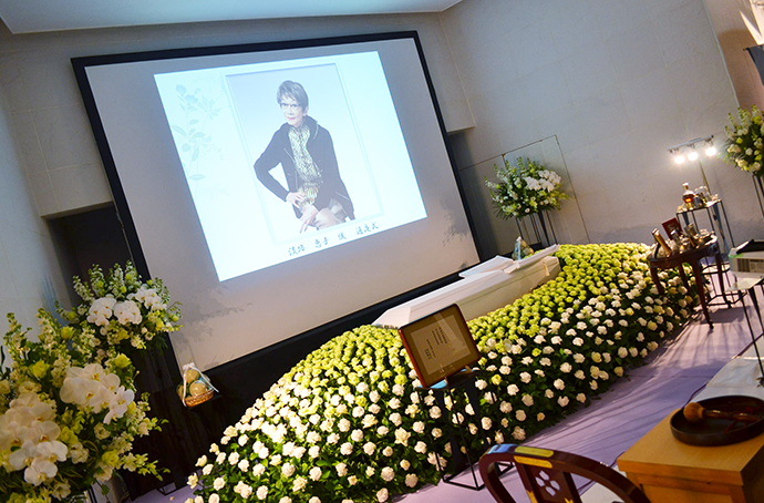 淡路恵子さん葬儀