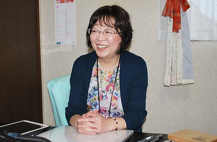 小塚敦子さんインタビュー