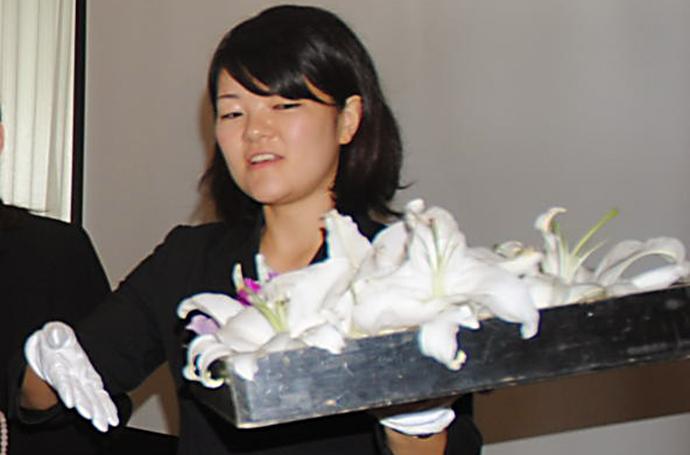 五十嵐さん葬儀施行