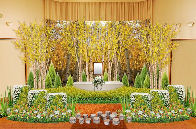 花祭壇事例11月