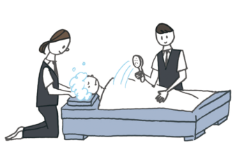 エンゼルケア | 葬儀の流れ