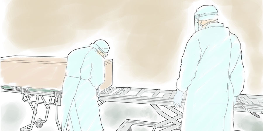 コロナ感染により亡くなられた方の無人葬儀と遺族の心境