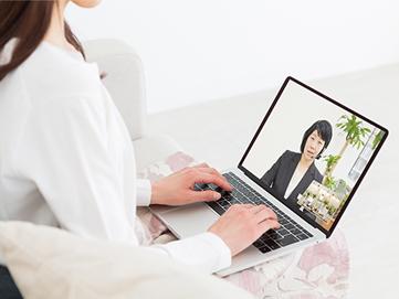 ご葬儀のお打合せ、相談をオンラインで行う