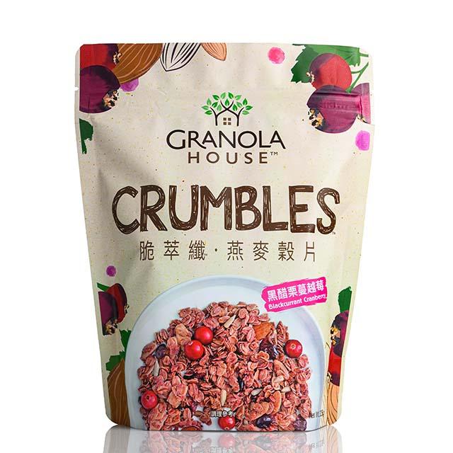 [小麥的家] 黑醋栗蔓越莓脆萃纖(325g/包)(全素)