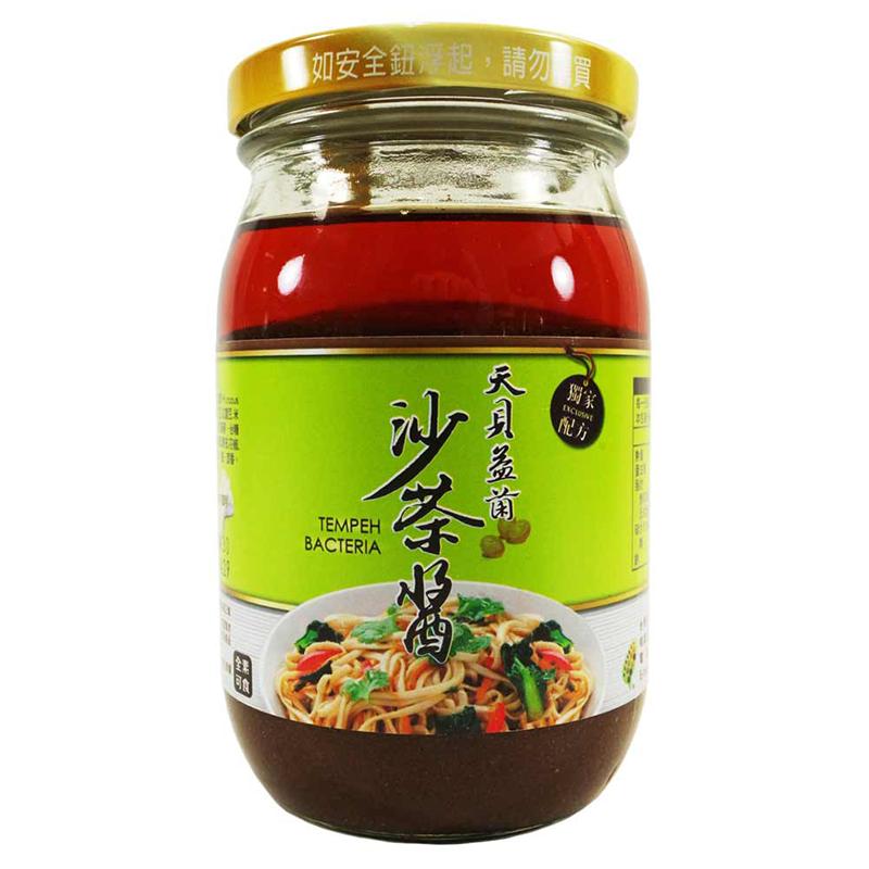 [台灣天貝] 天貝益菌沙茶醬 (400ml) 原味
