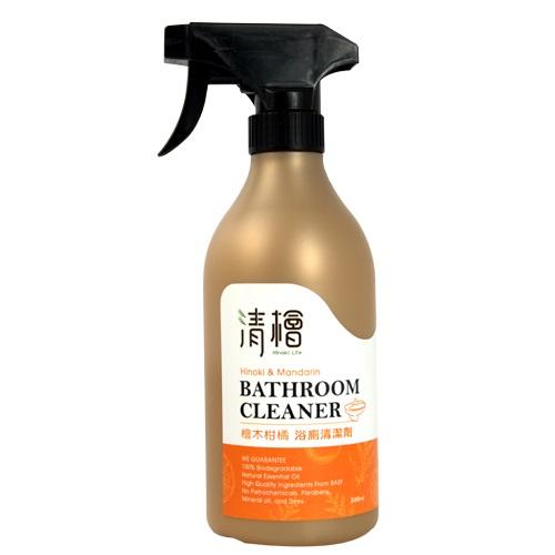 [清檜] 檜木柑橘浴廁清潔劑 (500ml/瓶)