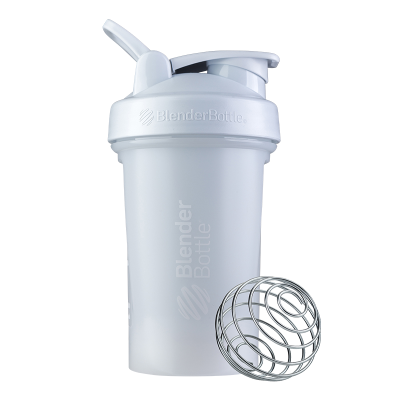 [Blender Bottle] 第二代Classic搖搖杯(592ml/20oz)-時尚白