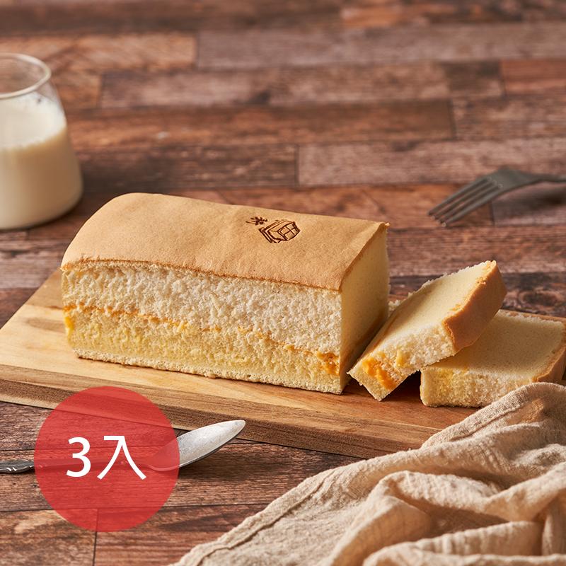 [本家生機] (新鮮含運價)耕起士豆乳蛋糕 (350g/條)(蛋奶素)*3