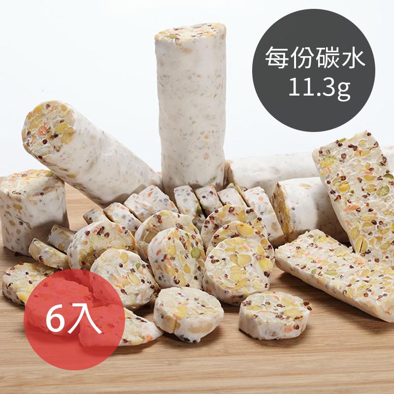 (免運)[台灣天貝] 6袋入免運-八豆新鮮天貝 (400g/袋) (片狀) (全素)