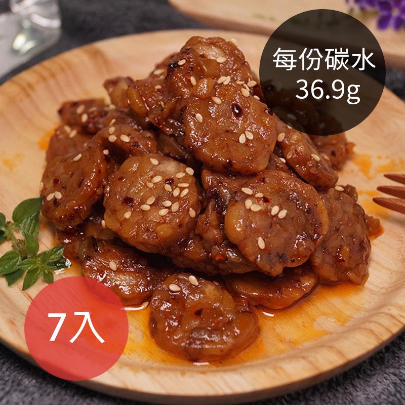 (免運)[台灣天貝] 7袋入免運-蜜汁天貝 (250g/袋) (全素)