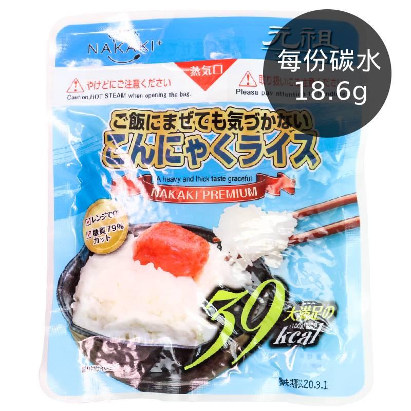[日本 NAKAKI] 蒟蒻纖食米(180g/袋)(全素)