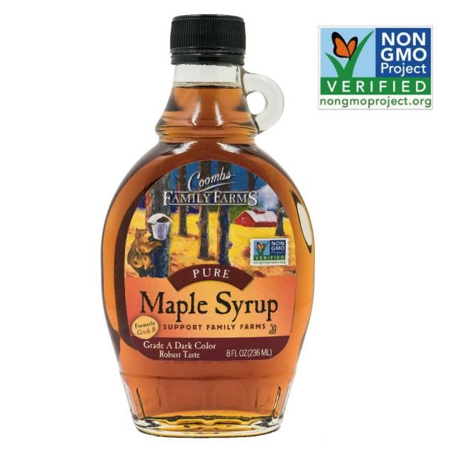 [Maple Syrup] A級深色楓糖漿 (236ml/瓶) (全素)