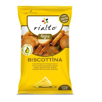 [Rialto] 吐司脆餅-切達起司口味 (100g/包)(五辛素)