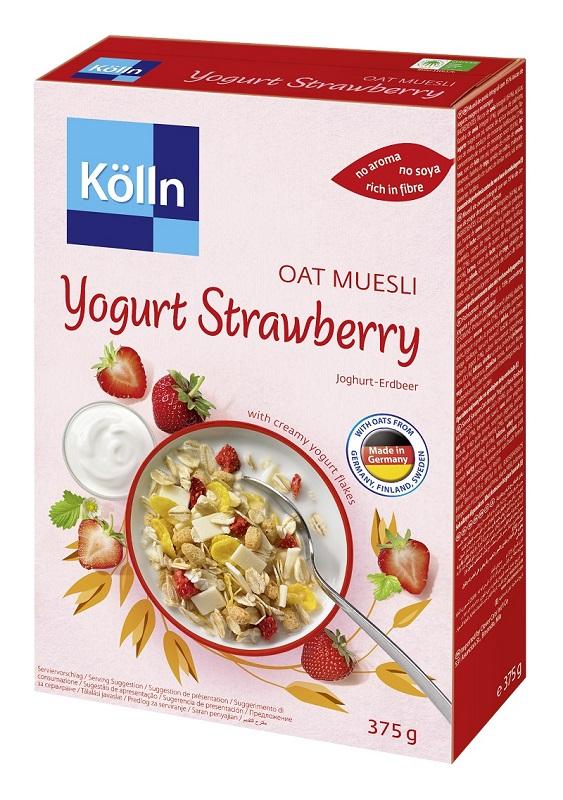 [德國 kolln] 草莓優格燕麥多穀片 (375g/盒)