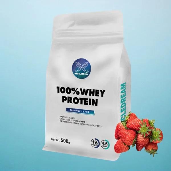 [VIP獨享] MUSCLEDREAM 乳清蛋白 (500g/袋) 草莓牛奶