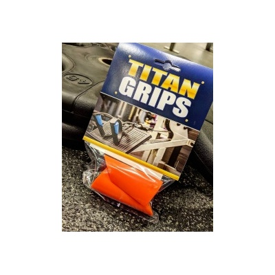 [Titan Grips]  護腕發力握套-橘色