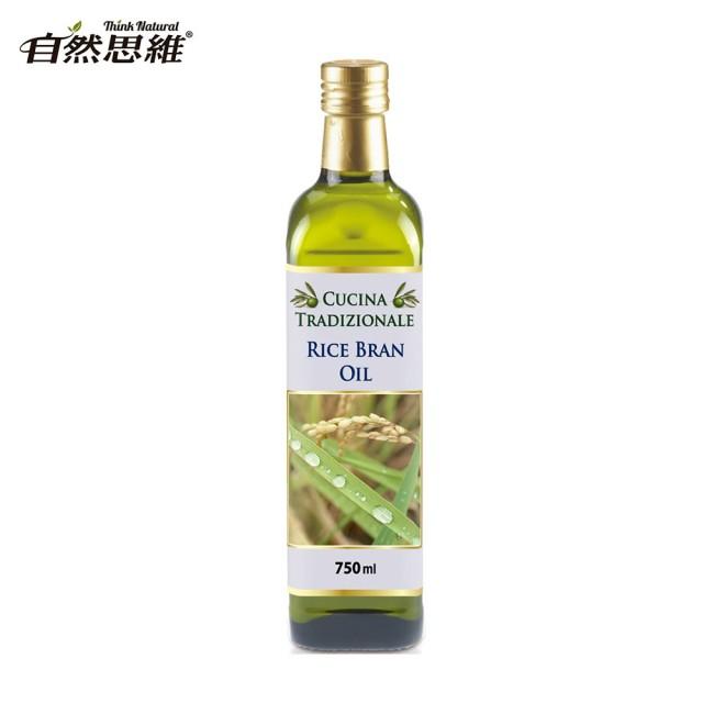 [自然思維] 酷奇納純玄米油 (750ml/瓶) (全素)