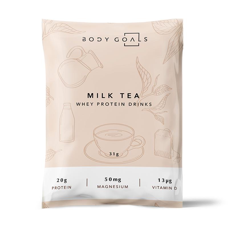 *嘖嘖爆款 [Body Goals] 乳清蛋白飲-英式奶茶口味