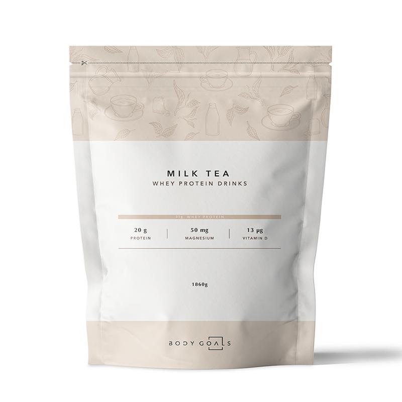 [Body Goals] 乳清蛋白飲-英式奶茶口味 (1860g/袋)