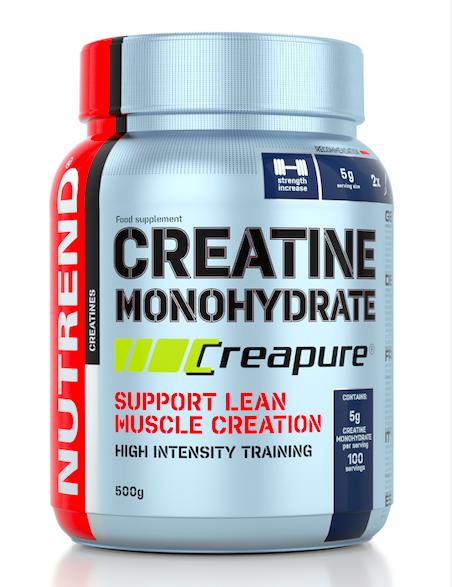 [捷克 Nutrend] Creapure水合肌酸-無調味(500g/罐)