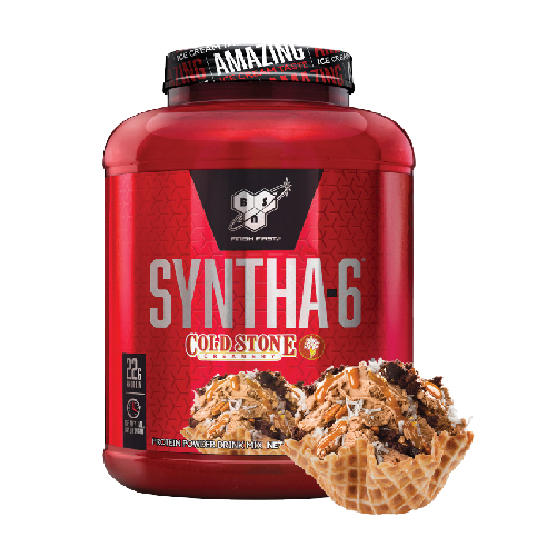 [美國 BSN] Syntha-6乳清蛋白 (4.56磅/罐) 酷聖石系列-德意志巧克力