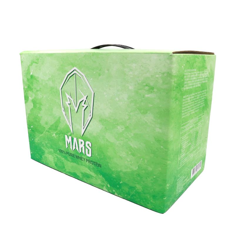 [戰神 MARS] 低脂乳清 - 抹茶奶綠 (60包/盒)