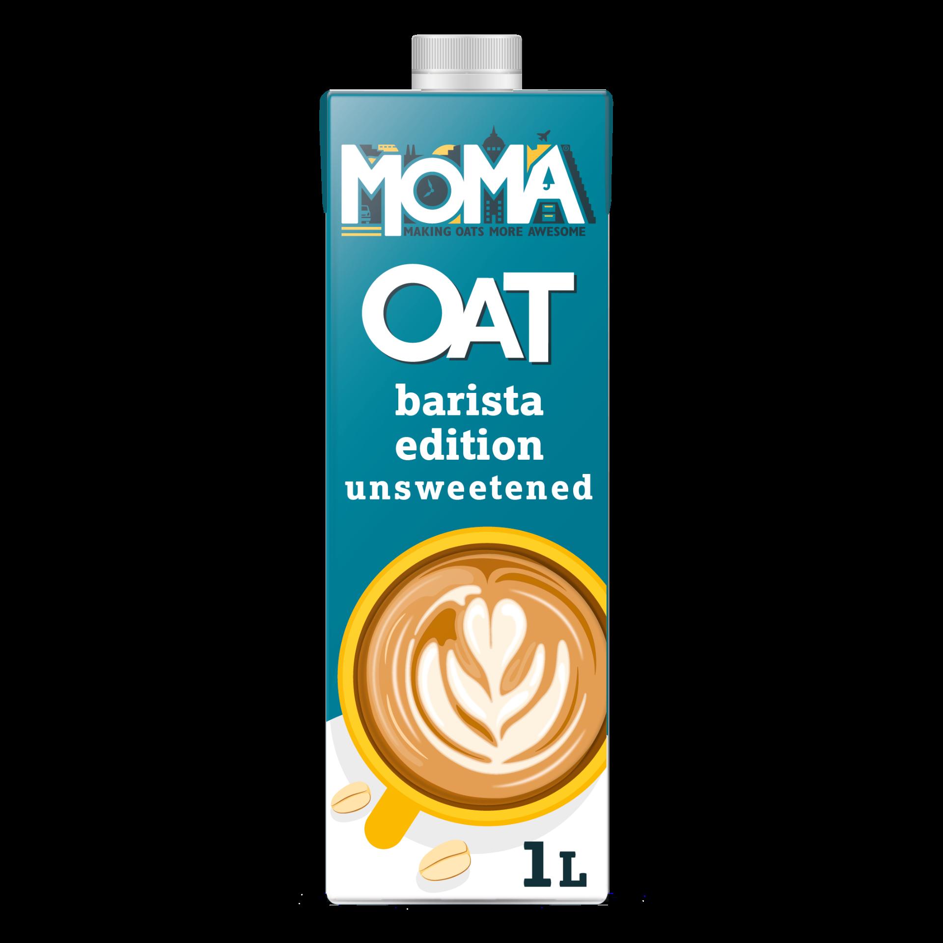 [英國 Moma] 咖啡大師無糖燕麥奶 1L