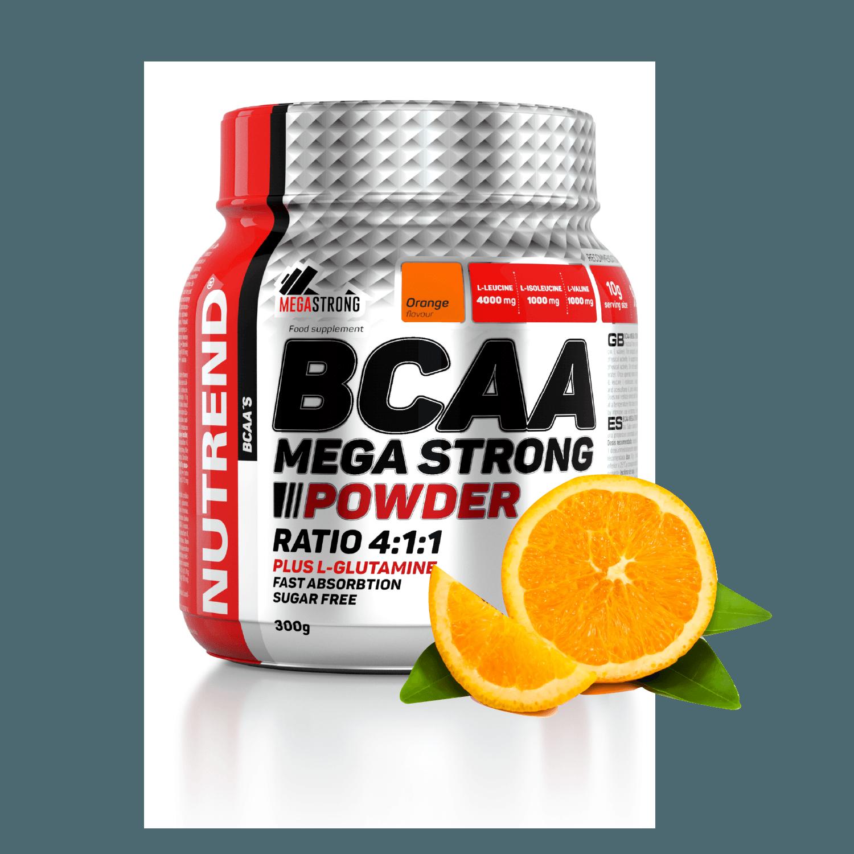[滿額贈] Nutrend MEGA BCAA 柳橙風味(300g/罐)