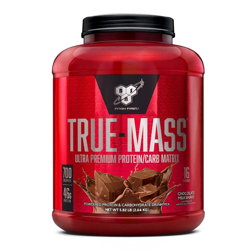 [美國 BSN] True-Mass 高熱量乳清蛋白 (5磅/罐) 巧克力