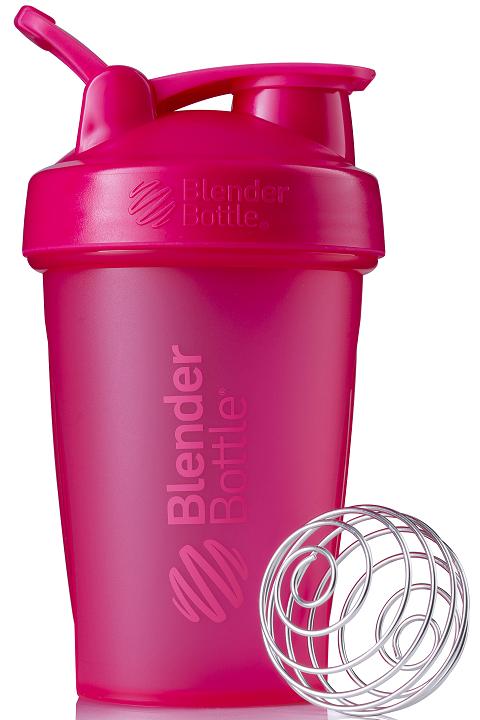 [Blender Bottle] Classic搖搖杯(592ml)-K.蜜桃粉