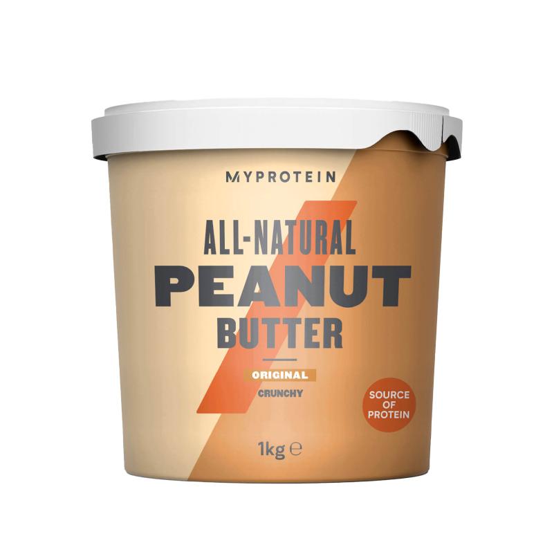 [英國 Myprotein] 無添加花生醬 (1kg/罐) (全素)