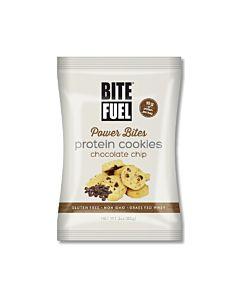 [美國 BITE FUEL] 巧克力脆片蛋白軟餅乾(85g)