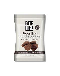 [美國 BITE FUEL] 雙倍可可蛋白軟餅乾(85g)