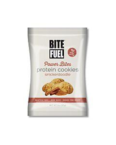 [美國 BITE FUEL] 肉桂香草蛋白軟餅乾(85g)