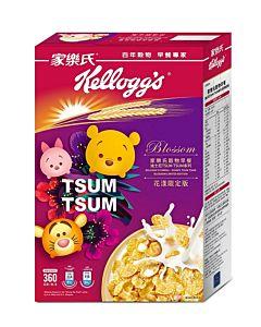 [家樂氏] 穀物早餐迪士尼TSUMTSUM系列花漾限定版 (360g/盒)