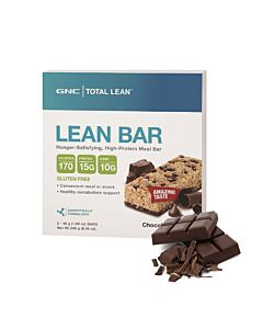 [GNC] Total Lean™  巧克力脆片代餐棒(5入/盒)