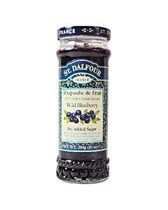 [法國St. Dalfour] 聖桃園天然野生小藍莓果醬 (284g/罐)