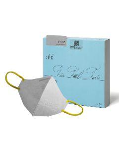 [:dc® 克微粒] 奈米薄膜可水洗立體口罩 (兒童)6片/盒