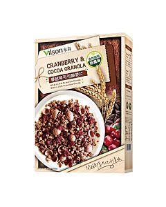 [米森] 蔓越莓可可脆麥片(350g/盒)