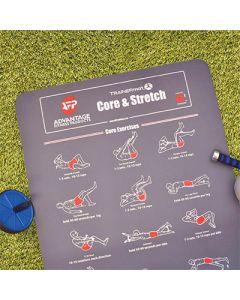 [美國 TRAINERmat] 核心肌群訓練墊 Core & Stretch